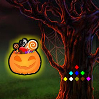 Free online flash games - Halloween Candy Forest Escape game - WowEscape