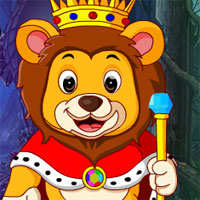 Free online flash games - G4K Monarch Lion Rescue Escape  game - WowEscape