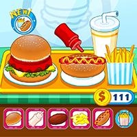 Free Online Fast Food Serving Games