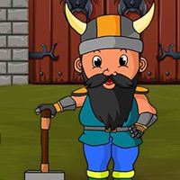 Free online flash games - G2J Hammer Warrior Escape