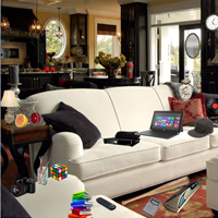 Hidden Objects-Couch Room