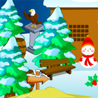 Free online flash games - Merry Christmas Escape