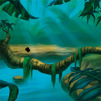 Free online flash games - FunEscapeGames Dark Hidden Jungle Escape game - WowEscape