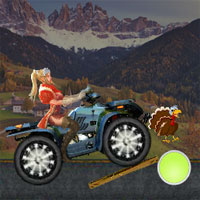 Free online flash games - Thanksgiving Turkey Ride game - WowEscape