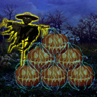 Free online flash games - Wowescape Save The Halloween Pumpkin game - WowEscape