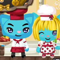 Free online flash games - Masterchef Cats game - WowEscape
