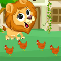 Free online flash games - Avm Escape Roaring Lion game - WowEscape