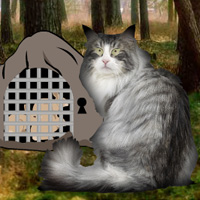 Free online flash games - Wowescape Norwegian Cat Forest Escape game - WowEscape