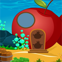 Free online flash games - Rescue Happy Little Mermaid