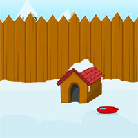 Free online flash games - Snowy Yard Escape game - WowEscape