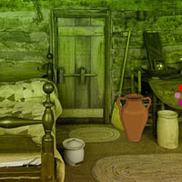 Free online flash games - Woodland Cottage House Escape