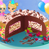 Free online flash games - Ice Cream Cake Chic game - WowEscape