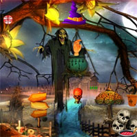 Free online flash games - Top10 Find the key from horror palace game - WowEscape
