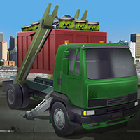 Free online flash games - Cargo Garbage Truck game - WowEscape