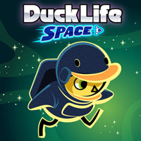 Free online flash games - Duck Life Space Mad game - WowEscape