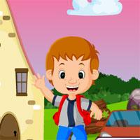 Free online flash games - Games4King Joyful Boy Rescue game - WowEscape
