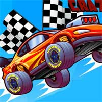 Free online flash games - Crazy Cars Race game - WowEscape