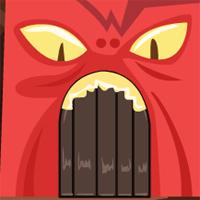 Free online flash games - GenieFunGames GFG Monster Cave Escape