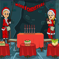 Free online flash games - Christmas Party House game - WowEscape