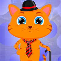 Free online flash games - G4K Gentleman Cat Escape
