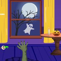 Free online flash games - G4E Purple Halloween Room Escape game - WowEscape