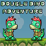 Free online flash games - Double Dino Adventure game - WowEscape