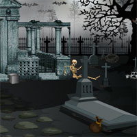 Free online flash games - Top10 Escape from Graveyard