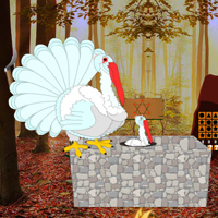Free online flash games - Wowescape Escape Game Save The White Turkey game - WowEscape