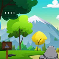 Free online flash games - G2J Cute Polar Bear Escape