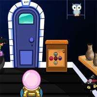 Free online flash games - GenieFunGames Halloween Devil House Escape game - WowEscape