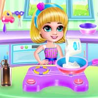 Free online flash games - Ice Cream Donuts Cooking Wowsomegames game - WowEscape