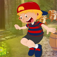 Free online flash games - G4K Leap Boy Escape
