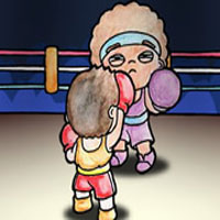 Free online flash games - Ringside Hero game - WowEscape