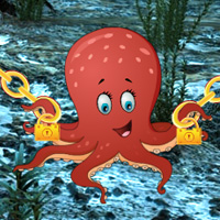 Free online flash games - Big Underwater Octopus Escape game - WowEscape