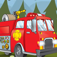 Free online flash games - Fireman Forest Rescue game - WowEscape