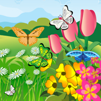 Free online flash games - Hidden Butterflies HOG game - WowEscape