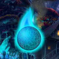 Free online flash games - Hidden Blue Fireballs game - WowEscape