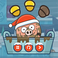 Free online flash games - Piggy In The Puddle 3 game - WowEscape