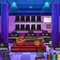 Free online flash games - Musical Store Escape EnaGames game - WowEscape