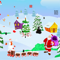 Free online flash games - AjazGames Escape Giggle Gift Christmas game - WowEscape