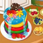 Free online flash games - Addicted To Dessert Rainbow Pancakes game - WowEscape