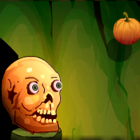 Free online flash games - Games4Escape Halloween Door Escape