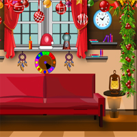 Free online flash games - KNFGames Xmas Gift Room Escape game - WowEscape