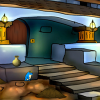 Free online flash games - Ancient Palace Lovers Rescue game - WowEscape