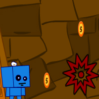 Free online flash games - Square Boy game - WowEscape