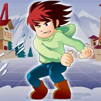 Free online flash games - Snow Throw game - WowEscape