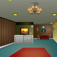 Free online flash games - KnfGames Lovely Living Room Escape game - WowEscape