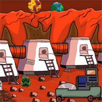 Free online flash games - Games2Jolly Mission On Mars Alien Rescue game - WowEscape
