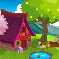Free online flash games - Games4king Cute Dog And Cat Embracing Escape game - WowEscape