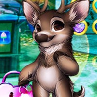 Free online flash games - G4K Gleeful Reindeer Escape